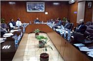 Meeting with the new Drafting Committee for the National Education Policy at UGC...